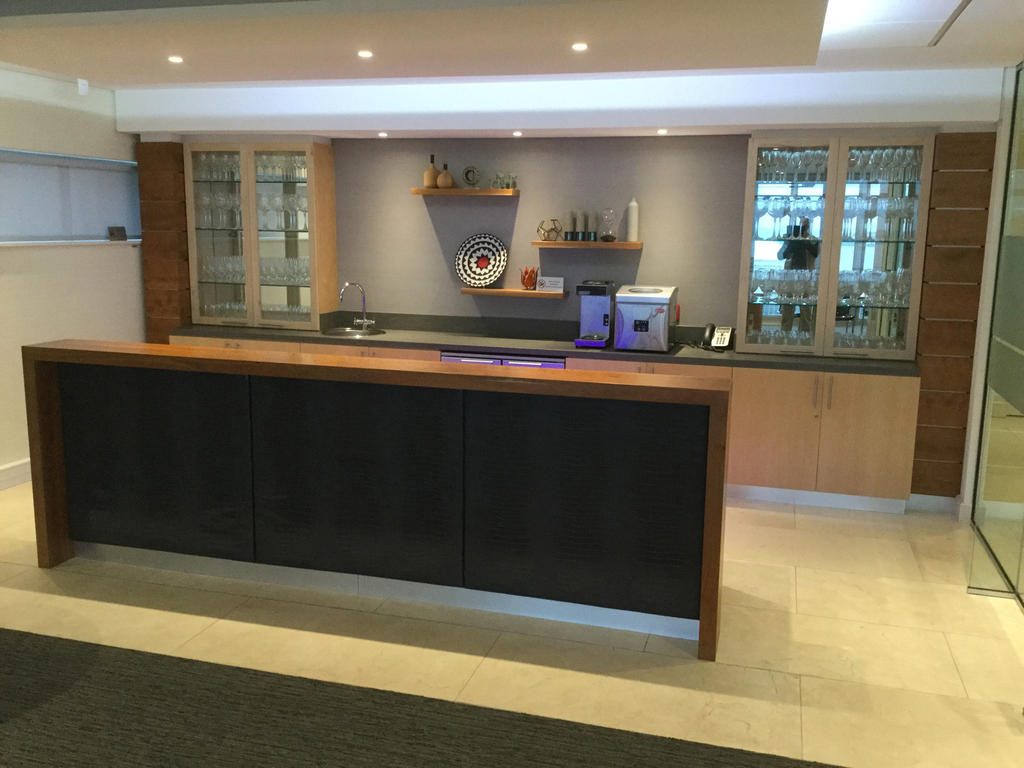 Corporate cupboards and designs office units and desks for Kitchen designs port elizabeth